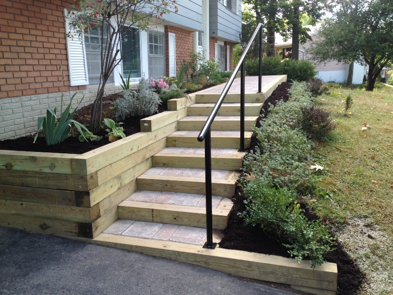 Stairwell Installation & Landscaping Ithaca, NY