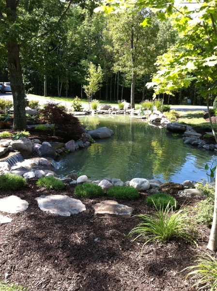Pond Installation & Landscaping - Landscaping Ithaca