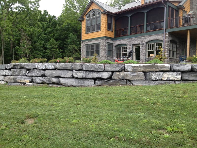 Stone Wall -  Landscaping Ithaca