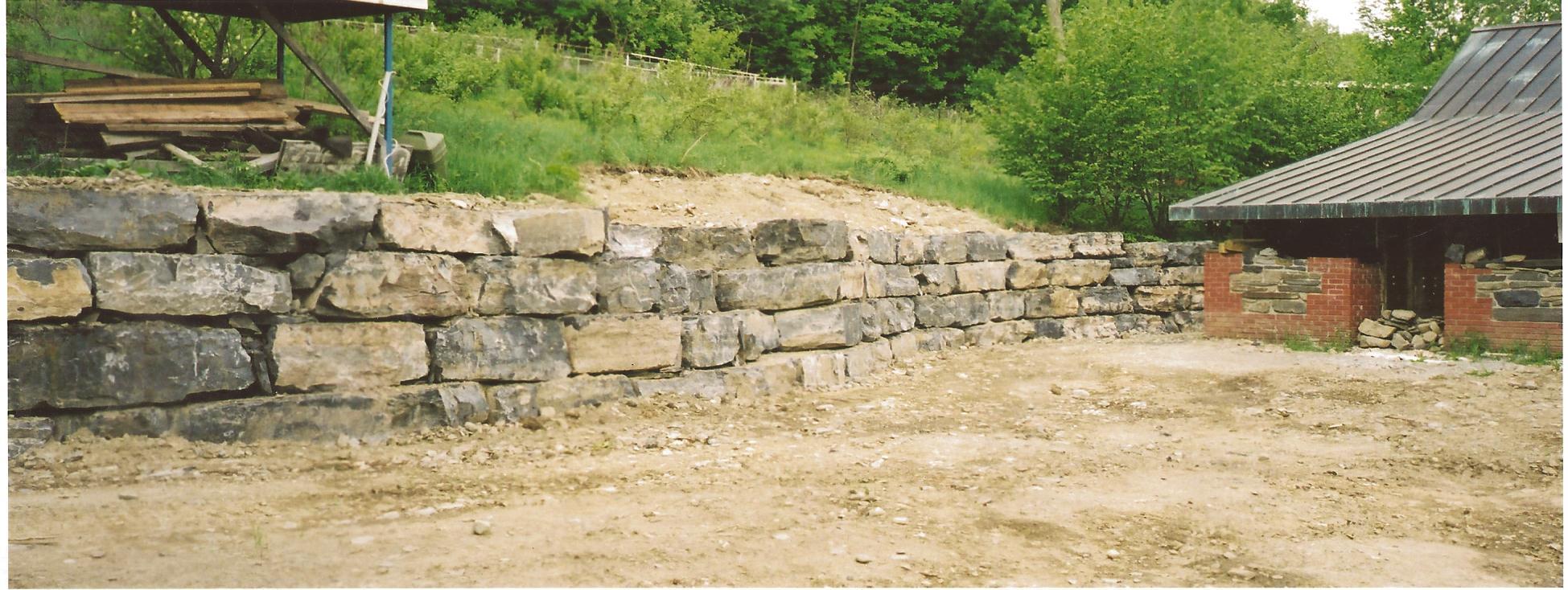 Stone Wall Ithaca, NY