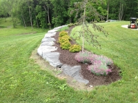 Garden Wall - Landscaping Ithaca