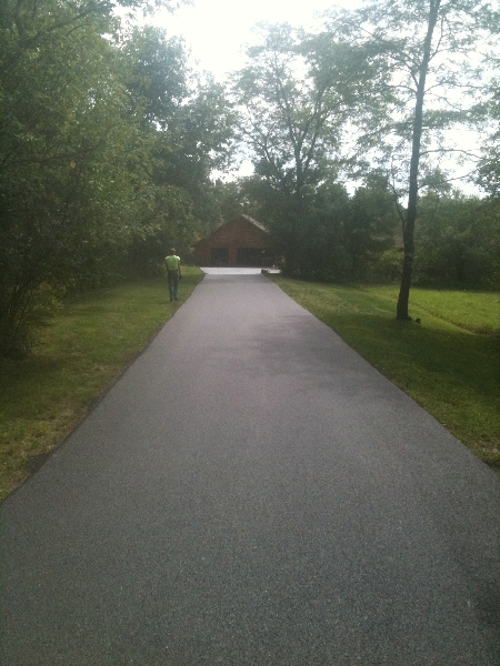 Pro-Seal Asphalt Driveway Installation, Ithaca New York
